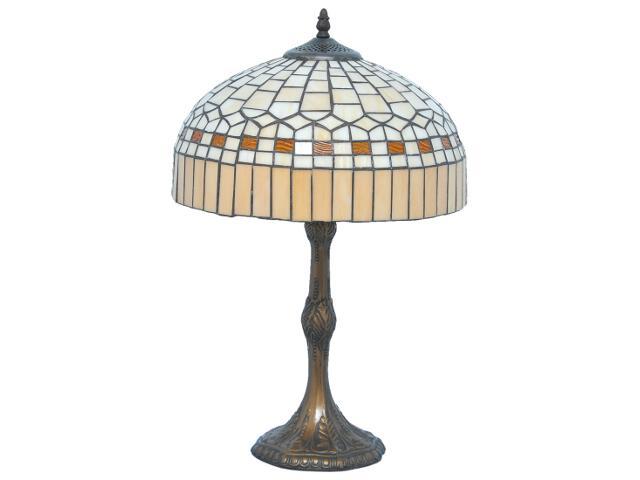 Lampa stołowa witrażowa Bikin 1xE27 60W K-G131104 Kaja