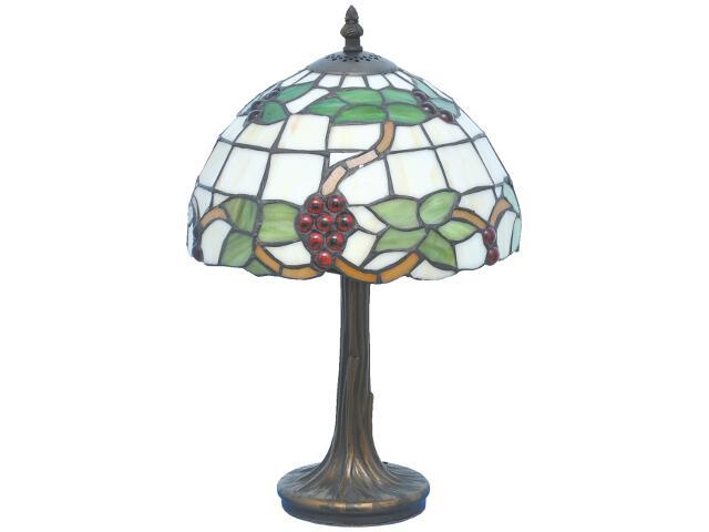 Lampa stołowa witrażowa Nelma 1xE27 60W K-G10279 Kaja
