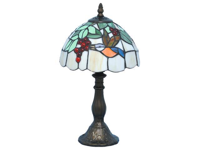 Lampa stołowa witrażowa Nelma 1xE14 40W K-G08789 Kaja