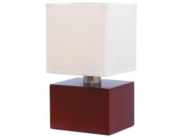 Lampa stołowa Juno 1xE14 40W K-Brick ciemna MT30418 Kaja