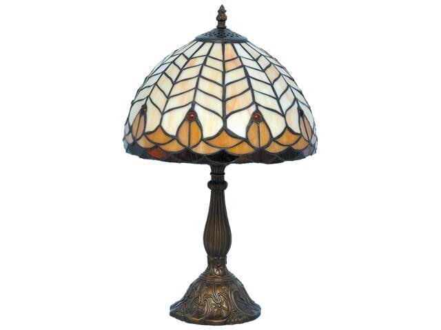 Lampa stołowa witrażowa Tifany 1xE27 60W K-G081551 Kaja