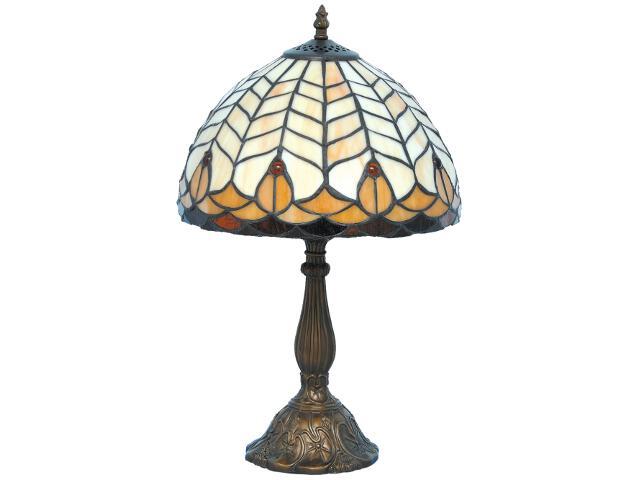 Lampa stołowa witrażowa Tifany 1xE27 60W K-G121551 Kaja