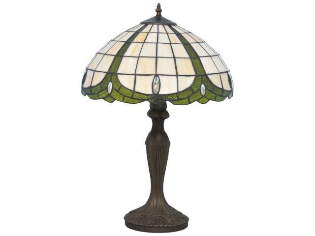 Lampa stołowa witrażowa Papi 1xE27 60W K-G162166 Kaja