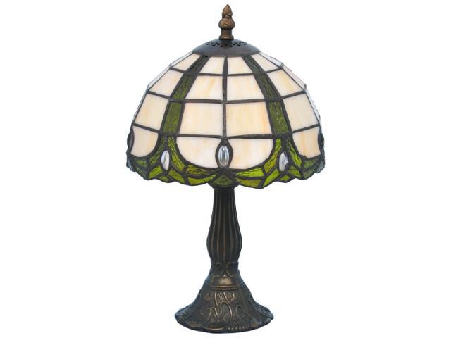 Lampa stołowa witrażowa Papi 1xE14 40W K-G082166 Kaja