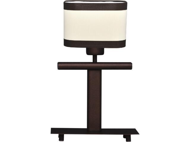 Lampa stołowa Selene 1xE27 60W K-2167 brązowa Kaja