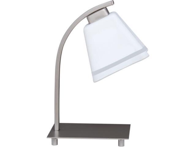 Lampa stołowa Neva Silver 1xE27 60W K-2753 Kaja