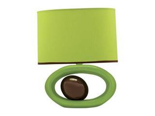 Lampa stołowa ceramiczna PORFIR 40W E14 D-2132 zielona ANS