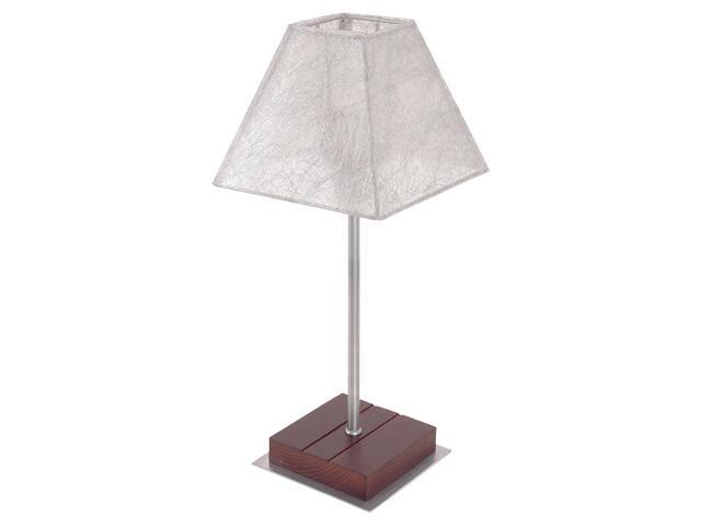 Lampa stołowa NILS srebrna I 1812 Nowodvorski