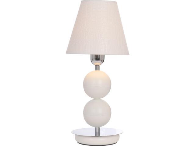 Lampa stołowa NATHALIE biała I B 4517 Nowodvorski