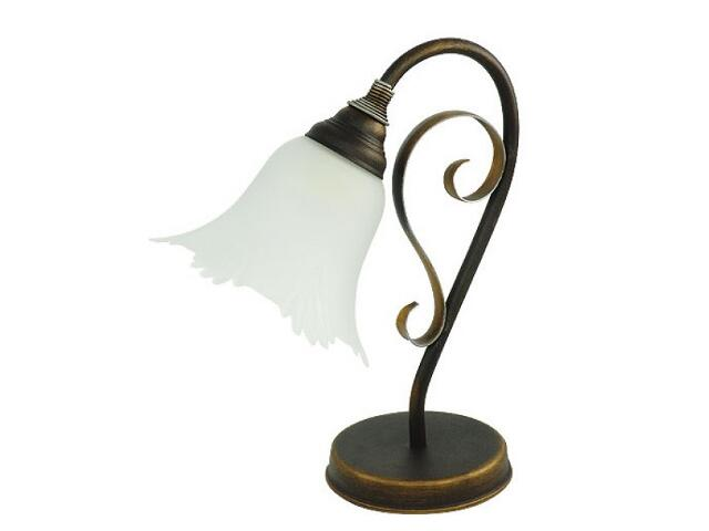 Lampa stołowa FONTANNA 1xE27 60W 456B Aldex