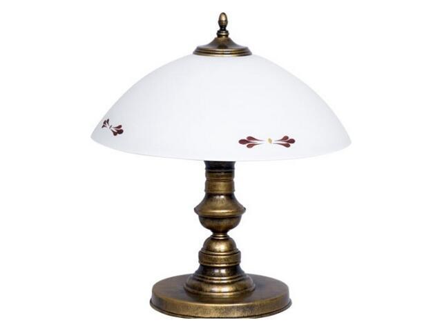Lampa stołowa PATYNA VII 1xE27 60W 492B Aldex