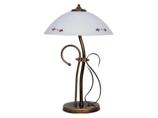 Lampa stołowa PATYNA VII 2xE14 40W 492B1 Aldex