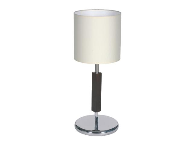 Lampa stołowa Dubai1 1x60W E27 wenge Sanneli Design