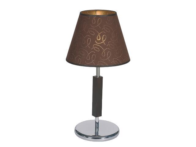 Lampa stołowa Dubai3 1x60W E27 wenge Sanneli Design