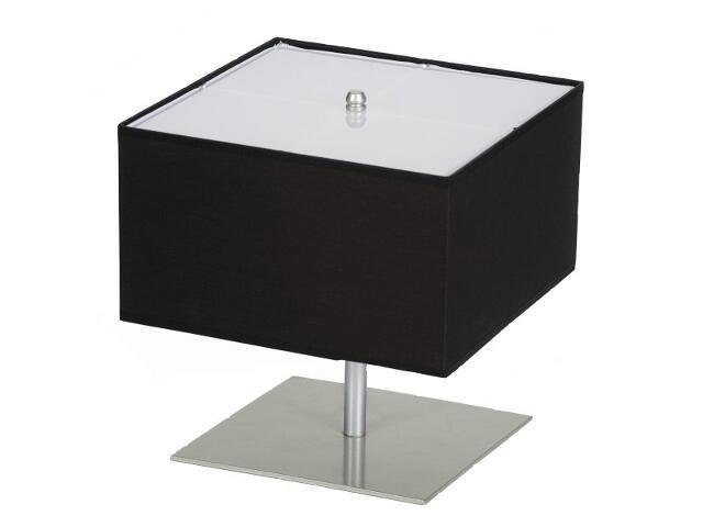 Lampa stołowa Lima3 1x60W E14 satyna / czarna Sanneli Design