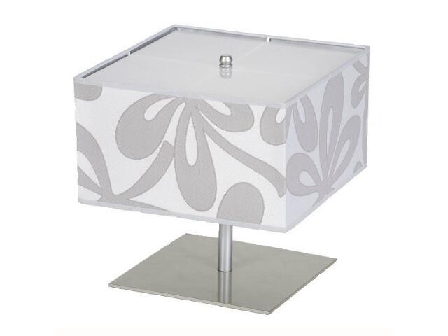 Lampa stołowa Lima4 1x60W E14 satyna / szara Sanneli Design