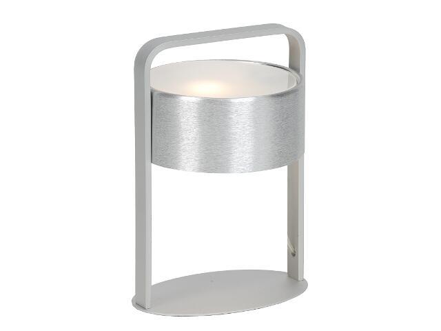 Lampa stołowa Grenada2 1x40W G9 srebrna Sanneli Design