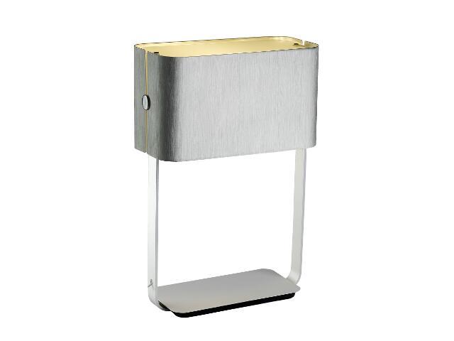Lampa stołowa Walencja2 1x100W E27 srebrna Sanneli Design