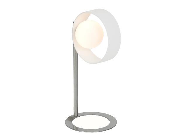 Lampa stołowa Malaga 1x20W G4 nikiel Sanneli Design
