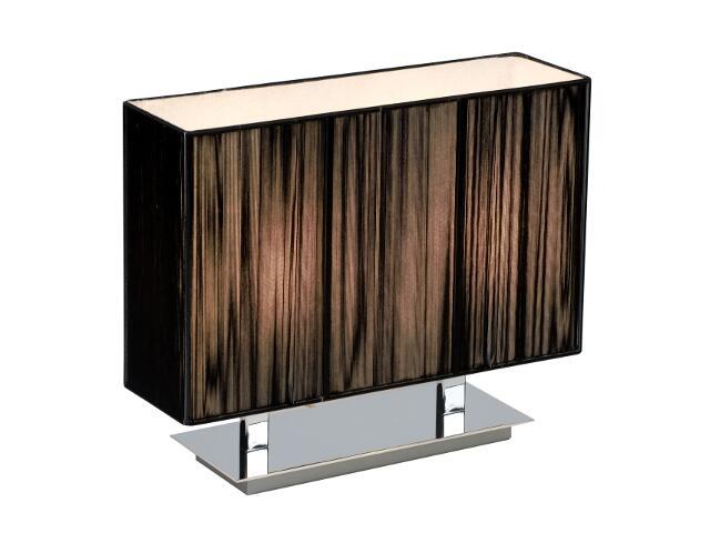 Lampa stołowa Barcelona2 2x40W E27 czarna Sanneli Design