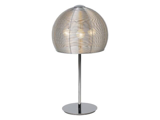 Lampa stołowa Alicante 3x40W E14 aluminium Sanneli Design