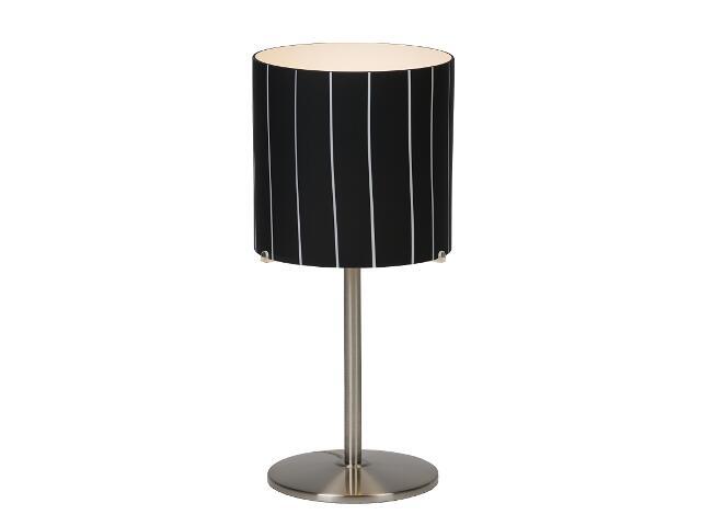 Lampa stołowa Kadyks1 1x60W E27 nikiel Sanneli Design