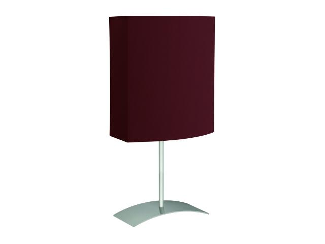 Lampa stołowa Argos 1x40W E27 satyna / brązowa Sanneli Design