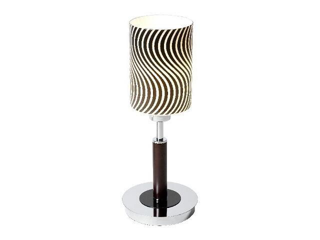 Lampa stołowa Kair1S 1x40W E14 chrom Sanneli Design