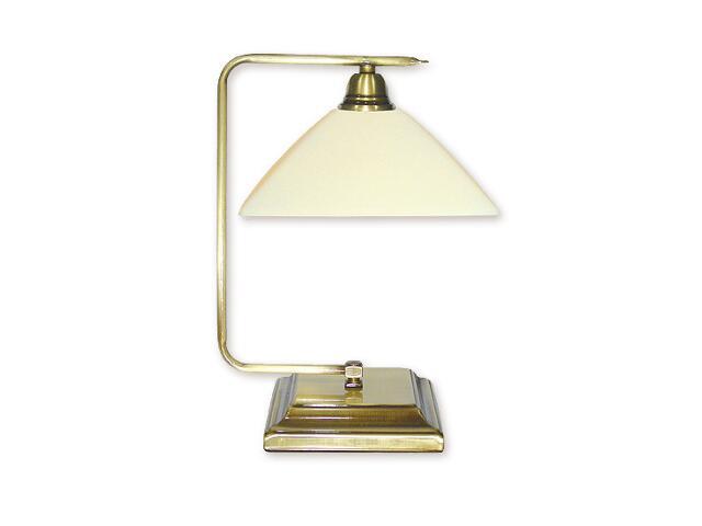 Lampa stołowa Kwadrat patyna 011/L1 Lemir