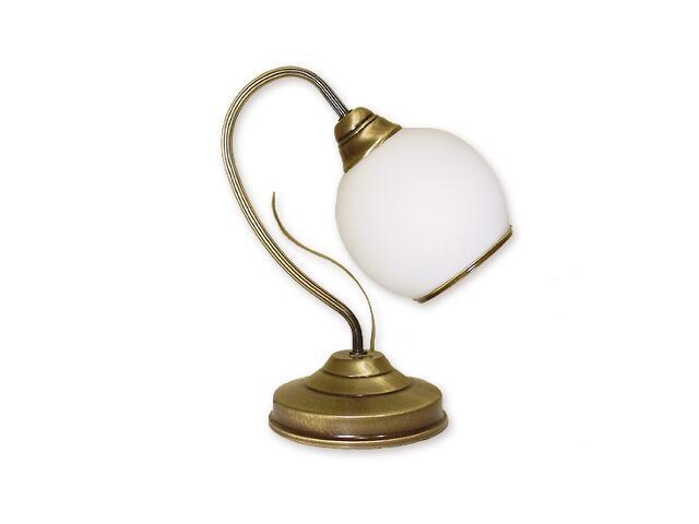 Lampa stołowa Karo 1-płomienna patyna 318/L1 Lemir
