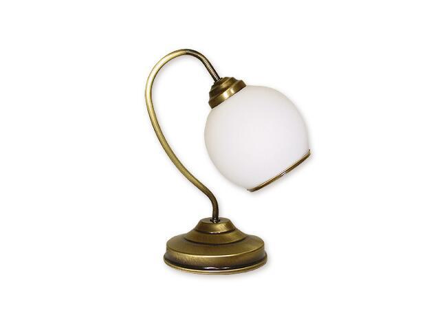 Lampa stołowa Koral 1-płomienna patyna 338/L1 Lemir