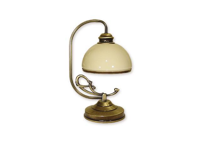 Lampa stołowa Delta 1-płomienna patyna 518/L1 Lemir