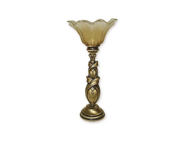Lampa stołowa Fikus 1-płomienna patyna 878/L1 Lemir