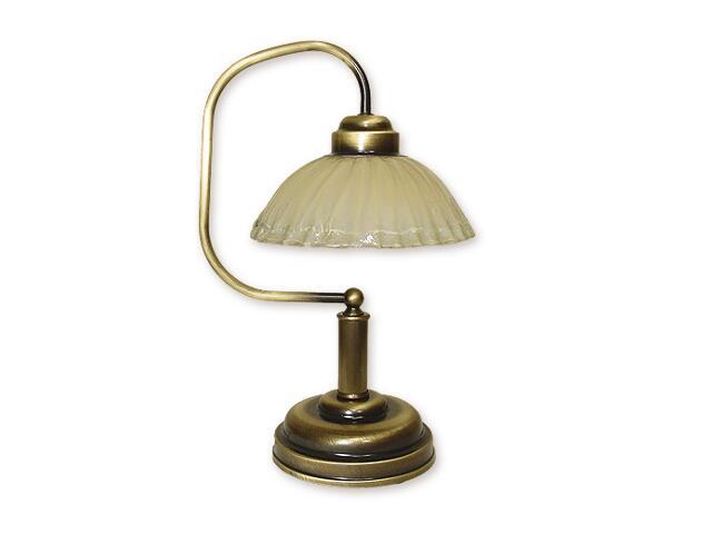 Lampa stołowa Alba 1-płomienna patyna 968/L1 Lemir