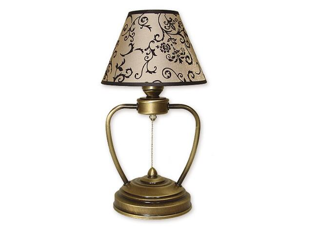 Lampa stołowa Aluna 1-płomienna patyna 858/L1 Lemir