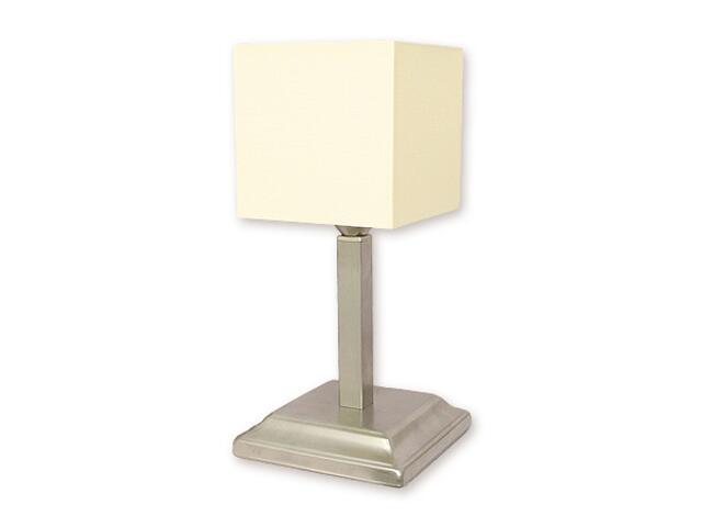 Lampa stołowa Rewa 1-płomienna satyna O1098/L1 SAT Lemir