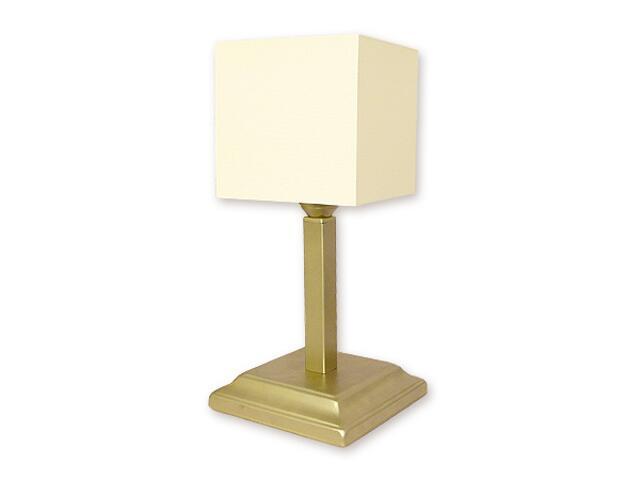 Lampa stołowa Rewa 1-płomienna złota O1098/L1 ZŁ Lemir