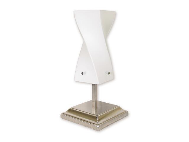 Lampa stołowa Iwo 1-płomienna nikiel O1178/L1 NK Lemir