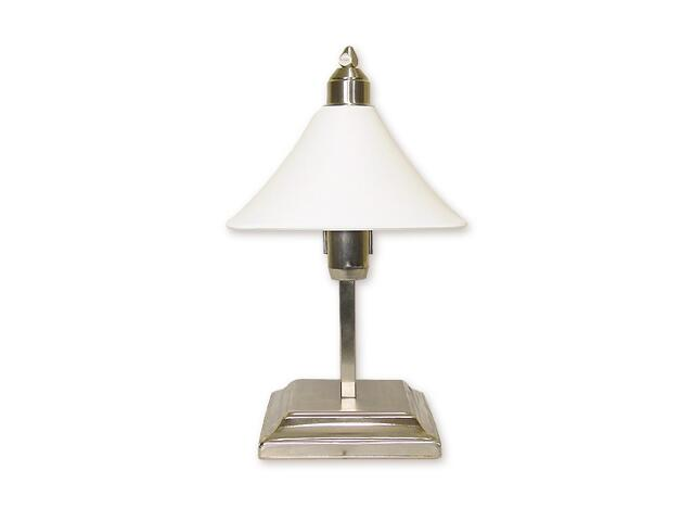 Lampa stołowa Lino 1-płomienna nikiel O1168/L1 NK Lemir