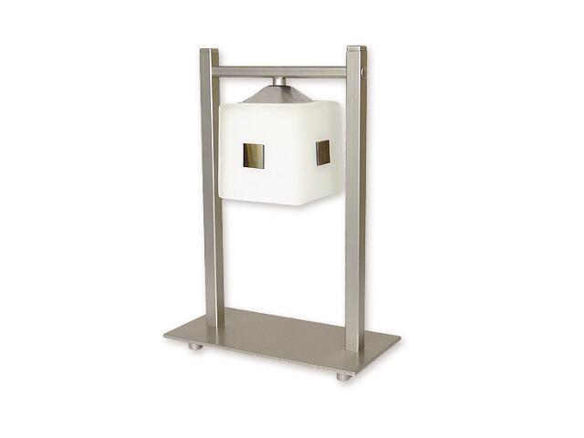 Lampa stołowa Morfeusz 1-płomienna satyna O1188/L1 SAT Lemir