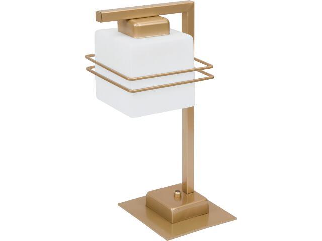 Lampa stołowa Aldo złota 1xE27 07718 Sigma