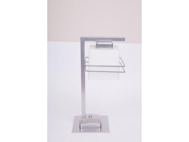 Lampa stołowa Aldo srebrna 1xE27 07717 Sigma