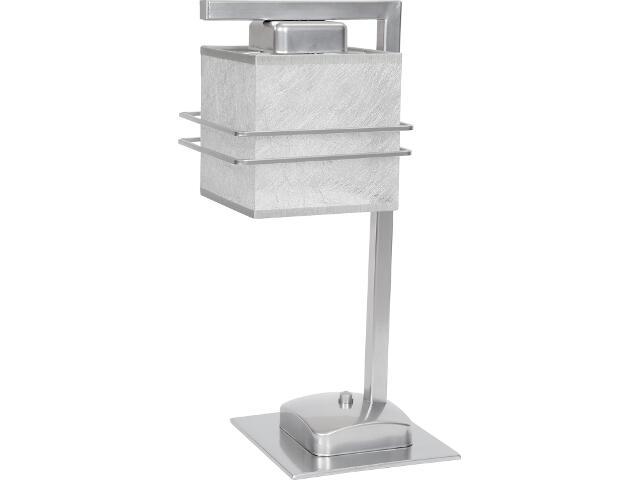 Lampa stołowa Aldo Trend srebrna 1xE14 07817 Sigma