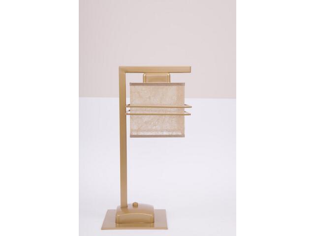 Lampa stołowa Aldo Trend złota 1xE14 07818 Sigma