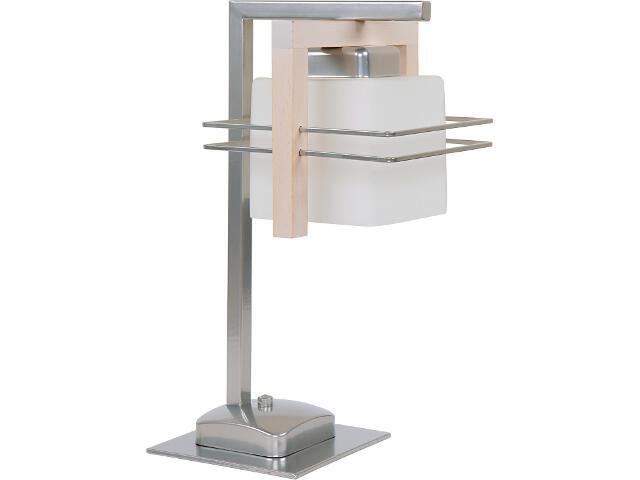 Lampa stołowa Bruno dąb bielony 1xE27 06911 Sigma
