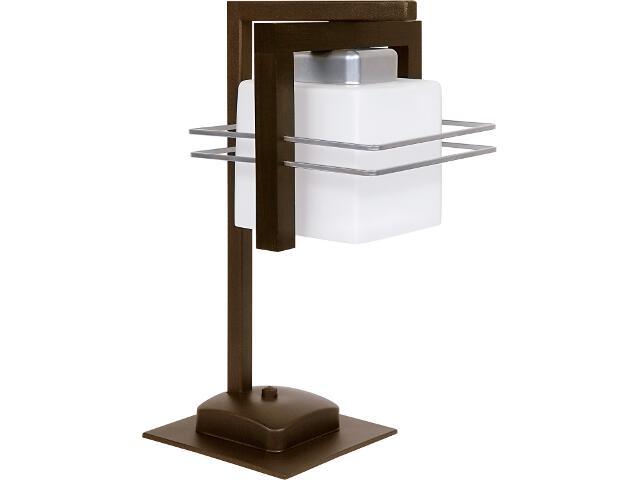 Lampa stołowa Bruno wenge 1xE27 06912 Sigma