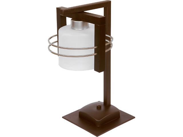 Lampa stołowa Carlo wenge 1xE27 07012 Sigma