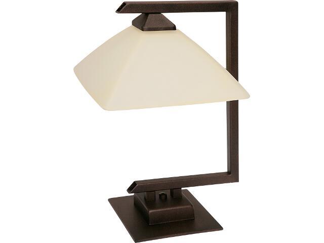 Lampa stołowa Kent 1xE27 brązowa 07220 Sigma