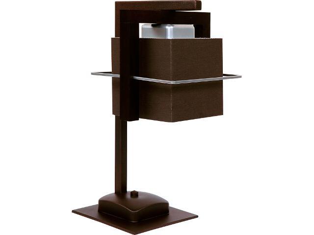 Lampa stołowa Toffi ciemna 1xE14 09012 Sigma