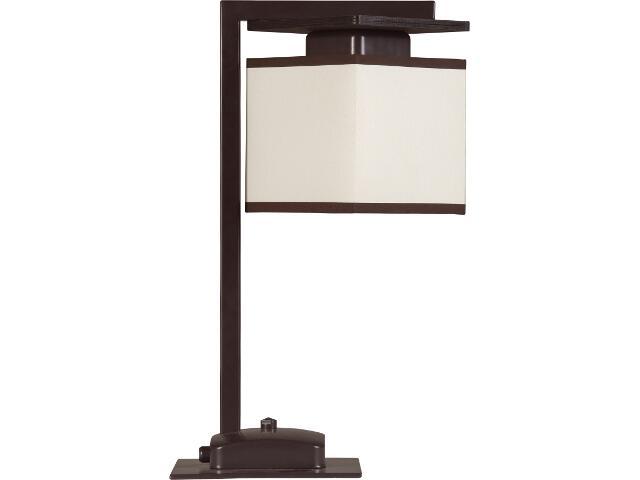 Lampa stołowa Astra Trend wenge 1xE14 10408 Sigma